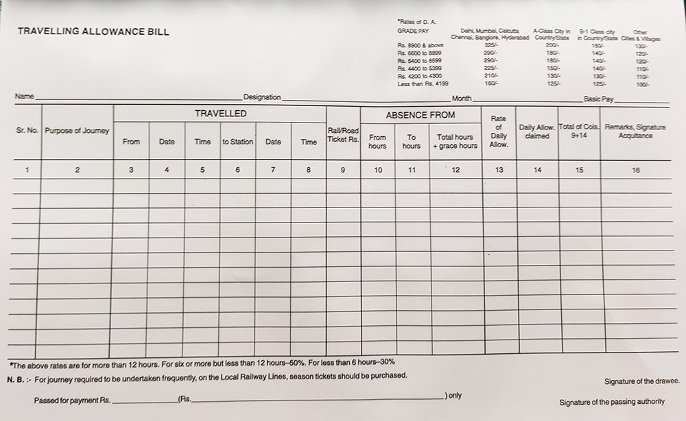 T-A-Bill-Forms