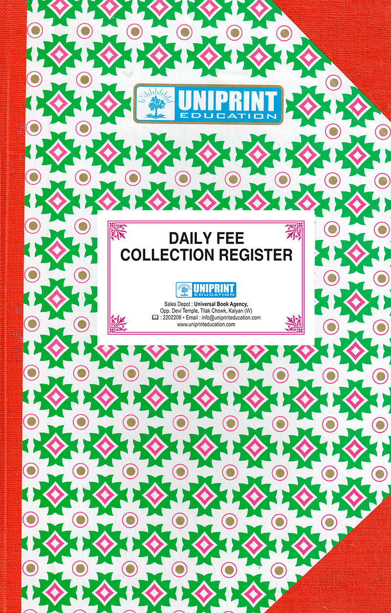 Daily Fee Collection Register 1